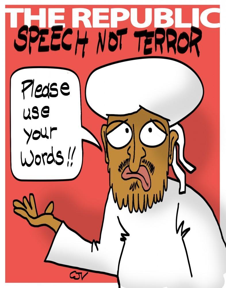 Speech not Terror