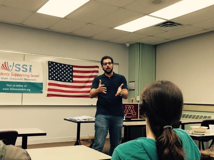 Mansour speaking