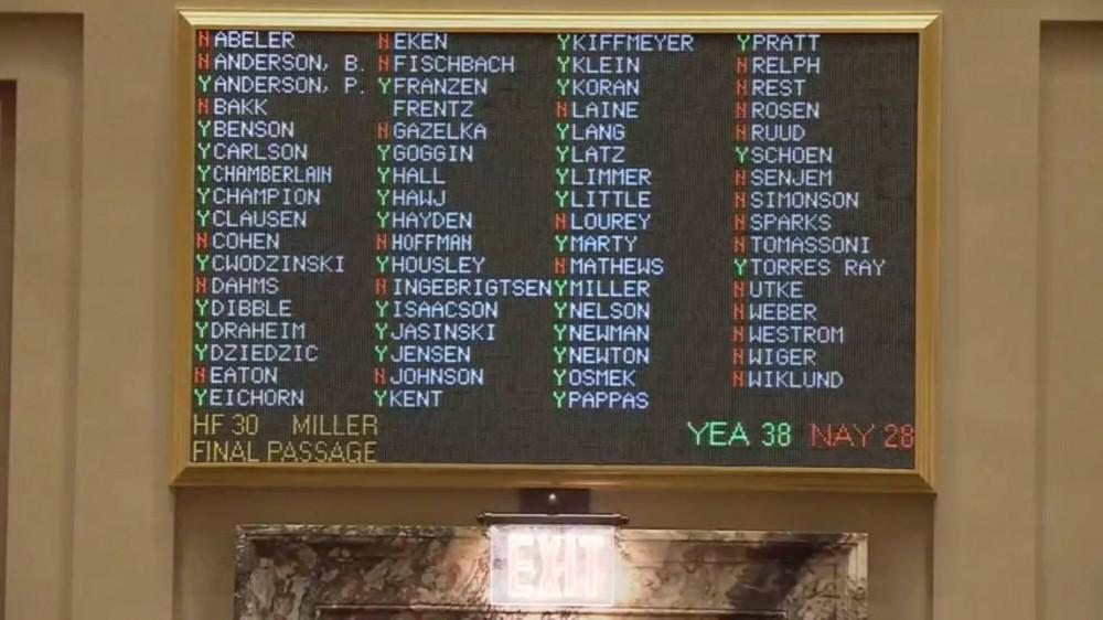 Sunday Sales Senate Vote