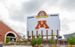 Minneapolis, United States - June 20, 2014: TCF Bank Stadium on the campus of the University of Minnesota. TCF Bank is an outdoor stadium and home to the Minnesota Golden Gophers football team.