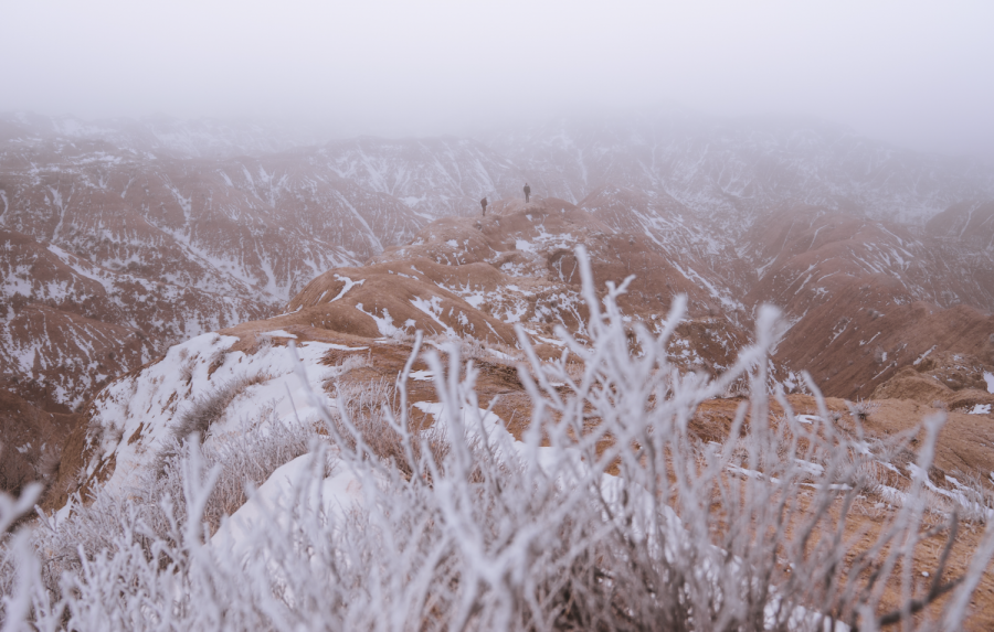Badlands Morning Snow, South Dakota/ Jay Sullivan