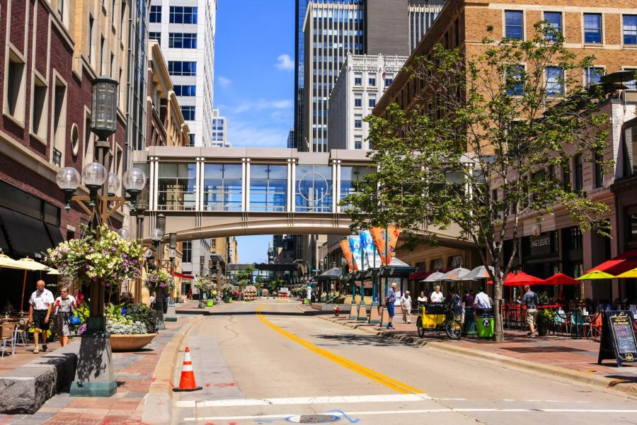 Downtown Minneapolis, Nicollet Mall. Image courtesy of iStock.