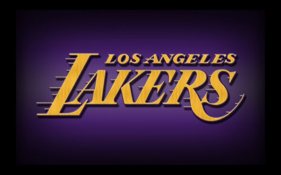 Free image/jpeg, Resolution: 1024x640, File size: 97Kb, Los Angeles Lakers Logo Black drawing